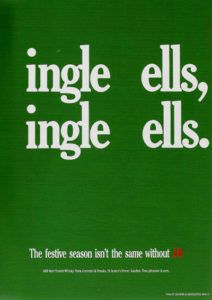 Seasonal Beer Advertisement -- Jingle Bells