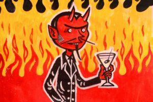 Satan cartoon